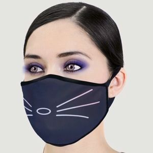 Accessories - IN STOCK FAST SHIP Cat Lover Fashion Face Mask